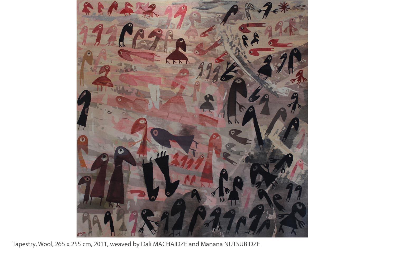 KAKO-Tapestry-Wool-265-x-255-cm-2011-weaved-by-Dali-MACHAIDZE-and-Manana-NUTSUBIDZE