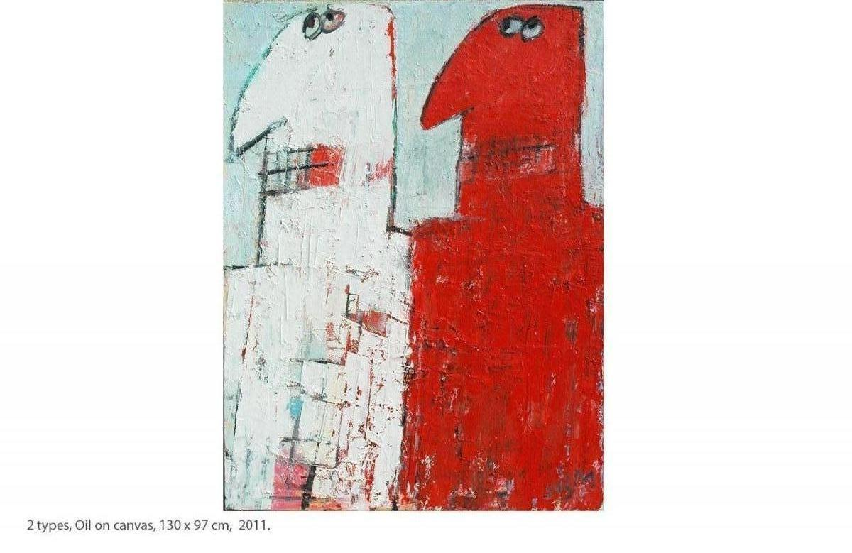 KAKO-2-types-Oil-on-canvas-130-x-97-cm-2011.
