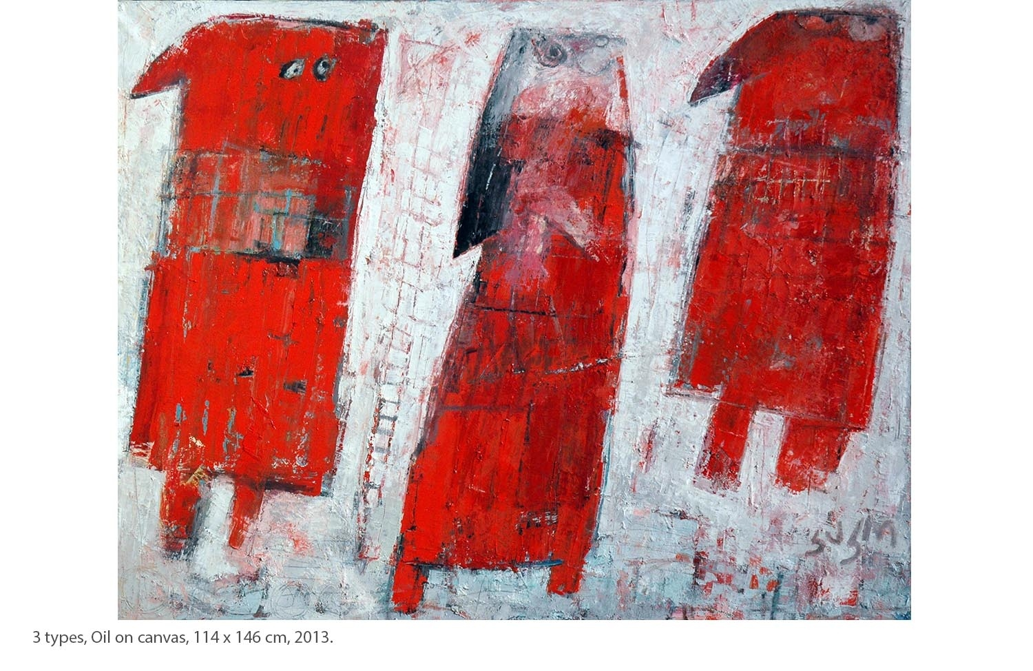 KAKO-3-types-Oil-on-canvas-114-x-146-cm-2013.