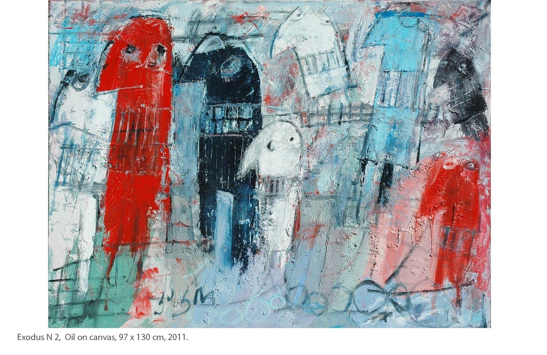KAKO-Exodus-N-2-Oil-on-canvas-97-x-130-cm-2011.