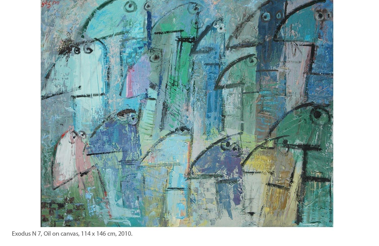 KAKO-Exodus-N7-Oil-on-canvas-114-x-146-cm-2010.