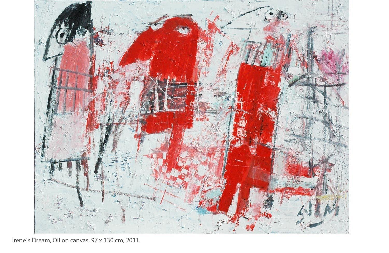 KAKO-Irene´s-Dream-Oil-on-canvas-97-x-130-cm-2011.