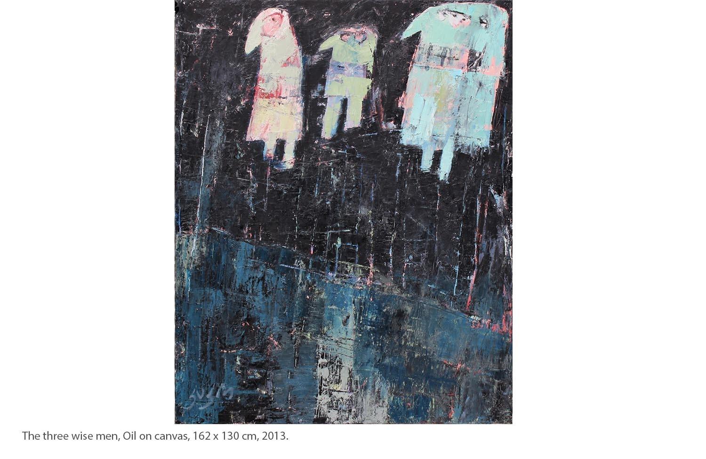 KAKO-The-three-wise-men-Oil-on-canvas-162-x-130-cm-2013.